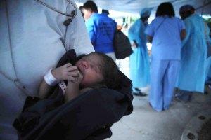 Newborn baby at University Hospital